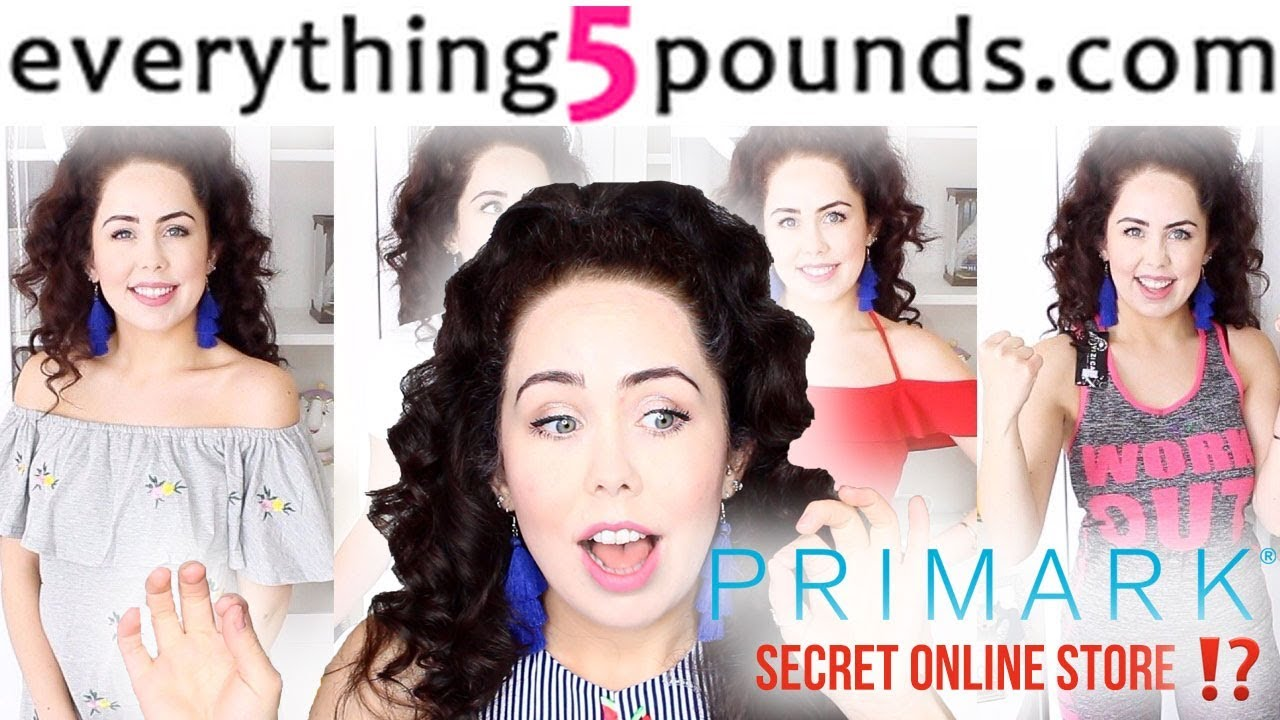c9d2eb154ea8 HUGE EVERYTHING5POUNDS.COM TRY-ON CLOTHING HAUL ($7) PRIMARKS SECRET ONLINE  STORE? SHOCKING! - The YouTube Clinic